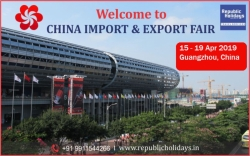 Canton Fair China 2019 Packages | 15 - 19 April | Guangzhou, China.