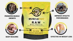 Want To Build A Great Physique With Lean Muscle Mass? Try Raw Whey Protein