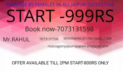 BODY  MASSAGE SERVICES ONLY 999 IN  JAIPUR-7073131598