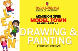 raghuvansham art classes at model town