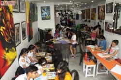 canvas painting classes by raghuvansham in rohini sector 5
