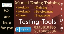 Get Reliable & Quality Manual Testing Training in Noida