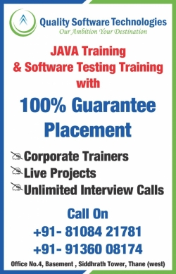 Quality Software Technologies - Software Testing, JAVA, Python, Machine Learning Training & Placement