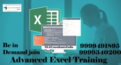 Join Advanced Excel Institute in Noida with High Trust Factor