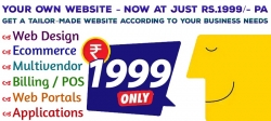 Website in Rs.1999/- only visit now