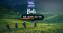 Bali Tour Package from Delhi, Book Bali Holiday Package at Best Price, Republic Holidays Travel Services.