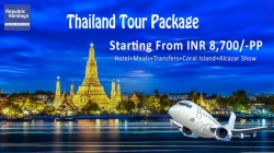 Thailand tour package from Delhi - Book Thailand Holiday Package at Republic Holidays Travel Services