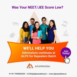 Best Medical Entrance Coaching Centres in Malappuram call: +91 7593853333, www.alpsacademy.in