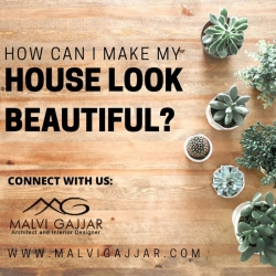 How can I make my house look beautiful